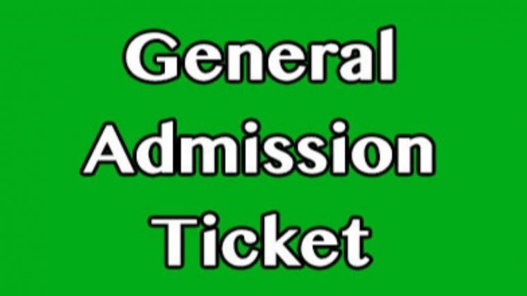 What the best prices on General Admission Tickets?
